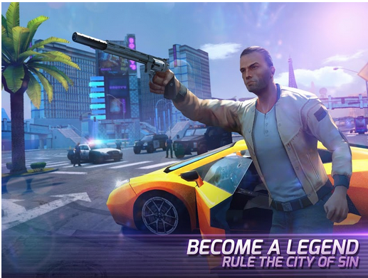 Gangstar Vegas Apk: World of Crime - mafia game (Latest)