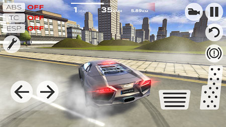 Extreme Car Driving Simulator APK v4.05.4 4