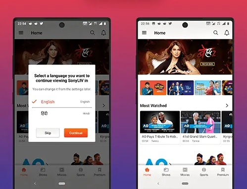 SonyLiv Mod APK v5.5.2 {Download Premium Latest Version 2020} 3